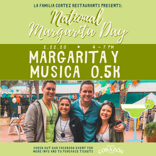 National Margarita Day Event!