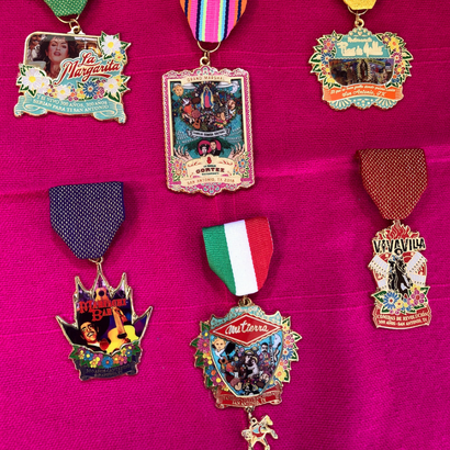 Our 2018 Fiesta Medals are Here!