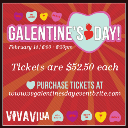 Galentine's Day at Viva Villa