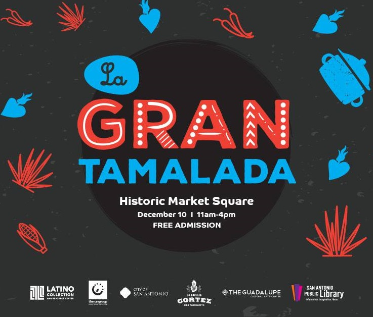 Join us for La Gran Tamalada at the Historic Market Square